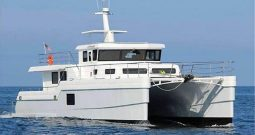 Catamaran luxury motor yacht. 19.81 m / 65′0″.