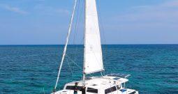 45-foot Nautica 45 cruising Sail catamaran